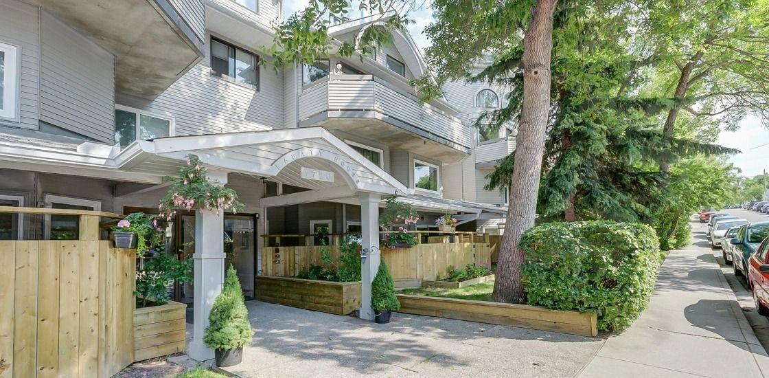 201 1720 13 St SW, Calgary, Alberta T3A 2E6, 1 Bedroom Bedrooms, ,1 BathroomBathrooms,Apartment,For Rent,Labatt House,1720 13 St SW,1087