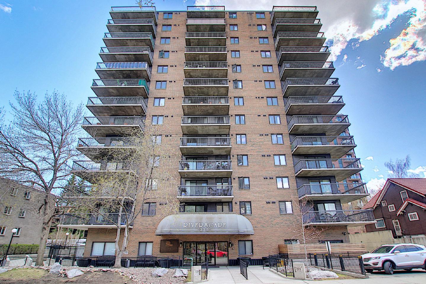 604, 225 25 Avenue SW, Alberta, 2 Bedrooms Bedrooms, ,2 BathroomsBathrooms,Condo,For Rent,Riverscape,25 Avenue ,604,1124